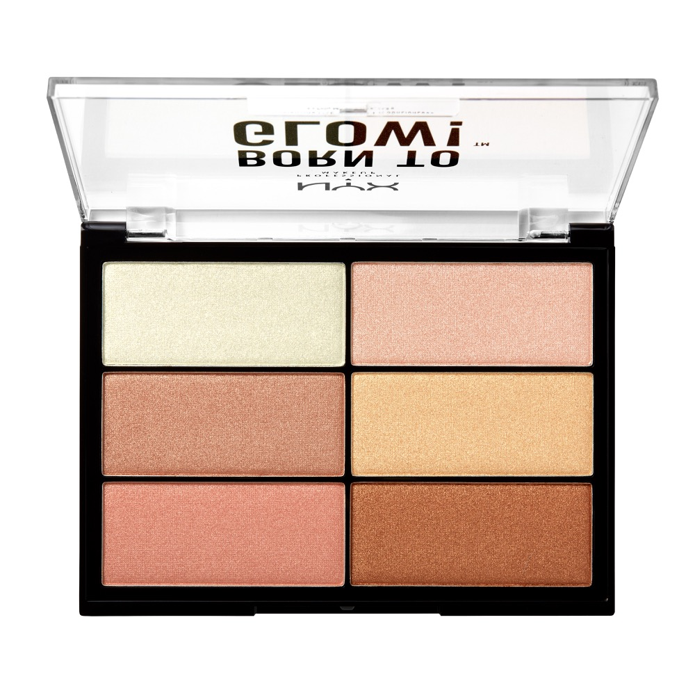 Палетка хайлайтеров born to glow highlighting palette (btghp) btghp01