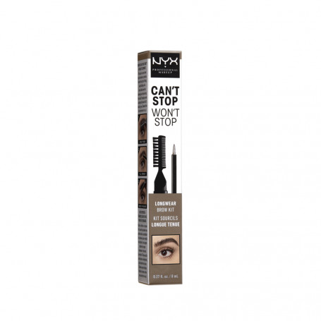 Набор для бровей CAN'T STOP WON'T STOP LONGWEAR BROW KIT