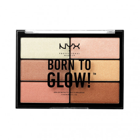 Палетка хайлайтеров BORN TO GLOW HIGHLIGHTING PALETTE (BTGHP)