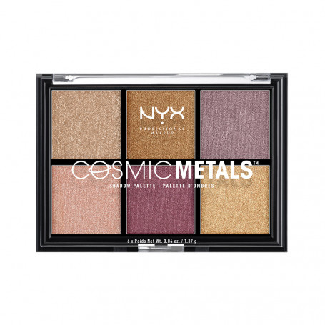 Палетка теней COSMIC METALS SHADOW PALETTE (CMSP)